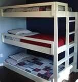 Image detail for -Triple Loft Bunk Beds | Woodworking Project Plans