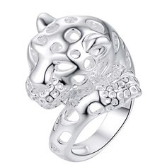 Aliexpress.com : Buy cartoon cute animal Hot silver plated Ring ,fashion jewelry Ring for Women, /NQNWQKRK NDQBWYNK from Reliable Rings suppliers on baozhu