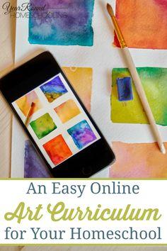 An Easy Online Art C