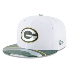 74f704e619e93 Green Bay Packers New Era Youth 2017 NFL Draft Official On Stage 59FIFTY Fitted  Hat - White