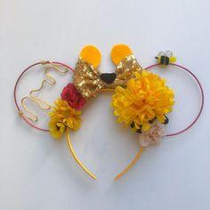 Winnie the Pooh and Friends Inspired Ears Eeyore Piglet Diy Mickey Mouse Ears, Diy Disney Ears, Disney Mickey Ears, Disney Diy, Disney Ideas, Disney Stuff, Disney Magic, Halloween Costumes For Teens Girls, Halloween Ideas