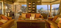 Namibia has a reputation for delivering friendly hospitality and good quality service. Your African dream desert vacation becomes real with us: Wolwedans C Luxury Tents, Luxury Camping, Timber Cabin, Best Hotels, Amazing Hotels, Rustic Interiors, Bouldering, Lodges, Glamping