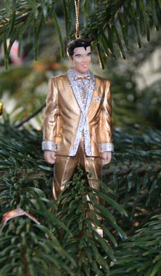 elvis..he makes my tree look good...thank you, thank you very much, lol