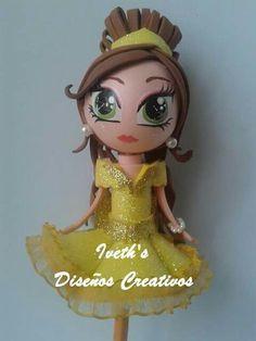 Fofulapiz Princesa Bella  Colección Princesas