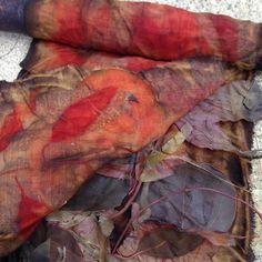 notjustnat Unwrapped bundle of wool and Eucalyptus
