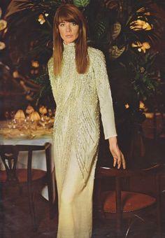 "fawnvelveteen: ""Françoise Hardy in Dior, 1969 """