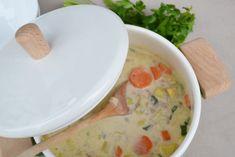 Kartoffel-Gemüsesuppe mit Hackfleisch