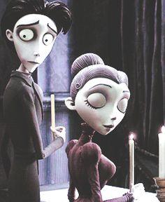 ~ † Victor Van Dort & Victoria Everglot † Corpse Bride ~A Tim Burton Film ~