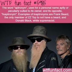 Aptronym - WTF fun facts