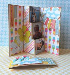 Crumbs Scrapbooking: minialbum