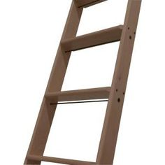 Quiet Glide 9 ft. Wooden Cherry Library Ladder-QG6009CH at The Home Depot