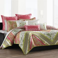 echo bedding gramercy paisley comforter and duvet sets bedding collections bed u0026 bath macyu0027s - Trina Turk Bedding