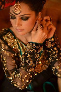 Ayesha Ahmed Makeup Look By Sadaf Farhan