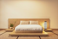 Interior luxury modern japanese style be. Modern Japanese Interior, Japanese Interior Design, Japanese Home Decor, Japanese Inspired Bedroom, Japanese Style Bedroom, Japanese Bed Frame, Tatami Futon, Minimalist Bed, Bed Styling