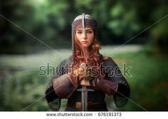 Girl, Armor, Sword - Free images on Pixabay