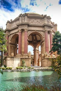 The gorgeous Palace of Fine Art in San Francisco, California. Travel   Architecture   USA #TravelDestinationsUsaCalifornia