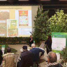 #ExpoGreenLand ospita il Dr. Agr. Diego Ballabio del #ConsorzioAgrarioLombardo che ci spiega la difesa biologica e tradizionale dell'orto. #agri2016