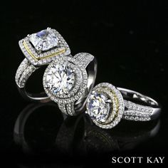 Which Scott Kay ring to you like the best?   1. left  2. center 3. right