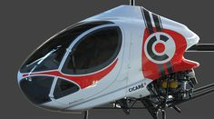 Helicopter Cicaré 8 graphics | por Sentidos design - Indalecio Sabbioni