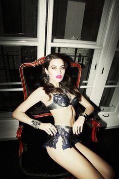 Model Isla, photographer Richard Bernardin for Dress To Kill, Summer 2012