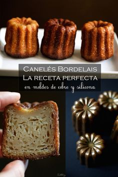Canelés Bordelais, la receta perfecta (paso a paso)