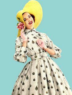 Day dress 1950's