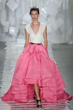 Jason Wu - Spring 2012: pop art, peplum, and pink