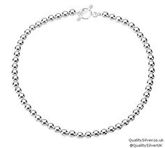 Absolutely love this :-)) A last minute #valentine #gift ? #silver beaded #necklace #valentinesday #jewellery