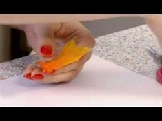 Создание украшений (серьги в виде птичьих крыльев). Штучная работа. Выпуск 11 - YouTube