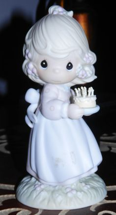 Precious Moments Figurine  May your Birthday be a by ljonesgifts, $35.99