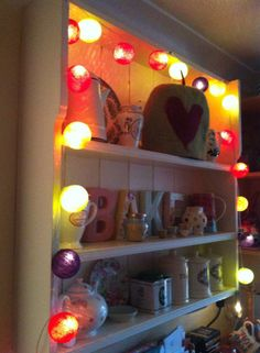 Homely Cable and Cotton lights.I have taken delivery of these today and they are ace. Do it, you know it makes sense. Cable And Cotton Lights, Cotton Ball Lights, String Lights, Lighting Ideas, Lanterns, Kids Room, Room Ideas, Delivery, Indoor
