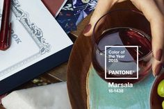 @pantone - 2015 Color of the Year: Marsala