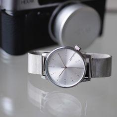 Komono Royale Silver Watch