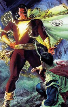 Capitão Marvel ⚡ (SHAZAM) - Coleções - Google+