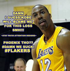 Damn!!! I Guess KOBE Will Blame Me For This Loss!! SMH!! PHOENIX THO??? #DAAMNWESUCK I KNEW It Would'nt Be Long!!!! Lmaoooo You Already Know What It Is!!!! GO HAWKS!!!! The LACKERZ SUCK!!!! Forget Them Rings!!! This Again!!!!!! SMH! #BUMS #losers #FAIL #wackness WACK ASS LACKERZ #MajorFailure #LACKERZ #letsgoheat #lebronjames #champions #MIAMI #miami #lebrons #winners #23WinsInARow #kobesucks I Knew Them WINS Were FLUKES!! NO PLAYOFFS FOR US!!! #Imjustsayin