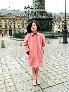 Milk Magazine | pink coat