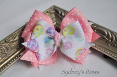Sale  Boutique hair bow hair clip by SydneysBows on Etsy, $2.49
