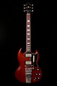 Gibson Les Paul SG Cherry Tom Murphy Aged