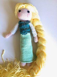 De Annoo ganchillo Mundo: Elsa ganchillo muñeca gratuito Tutorial