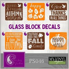 Glass Block Night Lights Soldier Design By Justblowingbubbles On - Halloween vinyl decals for glass blocks