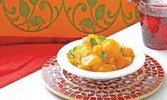 Una salsa muy tipica de la India para acompañar con carnes o pollo.