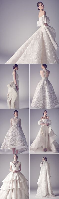 40 Stunning Cutting-Edge Futuristic Wedding Gowns