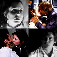 Han: Afraid I was gonna leave without giving you a goodbye kiss? Leia: I'd just as soon kiss a Wookiee! Han: I can arrange that. You could use a good kiss!