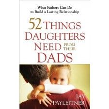 All dads love their daughters, but theyre uncertain how they can show that love in a way their daughters understand... or figure out what their girls really need from them. Author Jay Payleitner has given thousands of dads great, man-friendly advice in his bestselling book 52 Things Kids Need from a Dad.