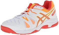 ASICS Gel Game 5 GS Tennis Shoe (Little KidBig Kid), WhiteSilverOnyx, 1 M US Little Kid