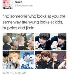 AWWWWHHHH!!!!!! IM CRYING I WISH TAEHYUNG COULD BE MINE!!! I LOVE HIM SO MUCH!!!
