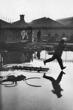 Henri Cartier-Bresson Behind Gare St. Lazare 1932