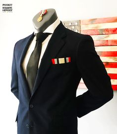 "Iraq Campaign ""OIF"" inspired pocket square Parade Rest, Service Medals, Gifts For Veterans, Pocket Square, Campaign, Fashion Accessories, Suit Jacket, Style Inspiration, Blazer"