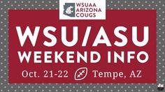 WSU Alumni Association Arizona chapter WSU/ASU weekend infographic   Jonalynn McFadden Design   www.jonalynnmcfadden.com