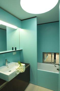 Badezimmer #interior #architecture #bath Architekt: ludin*plank*penz, Foto: Gerda Eichholzer